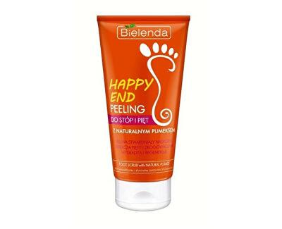 Peeling na nohy s přírodní pemzou Happy End (Scrub For Feet) 125 ml