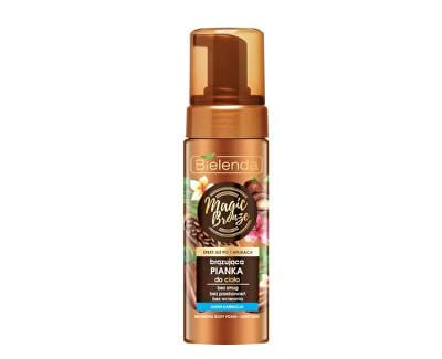 Spumă autobronzantă pentru pielea luminoasă Magic Bronze(BronzingBody Foam) 150 ml