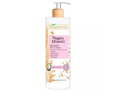 Cremă de corp nutritivă Vegan Musli (Nourishing Body Lotion) 400 ml