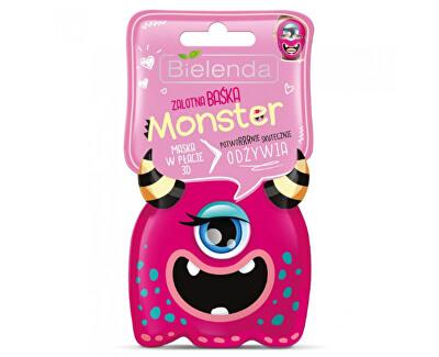 Vyživující 3D plátýnková maska Monster (Nourishing Sheet Mask) 1 ks