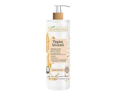Zvláčňující pleťové mléko Vegan Müsli (Moisturizing Face Cleansing Milk) 175 ml