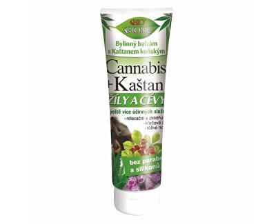 Balsam vegetal cu arnică și extract de castan Cannabis 200 ml