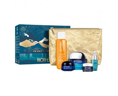 Set cadou de îngrijire a pielii Blue Therapy