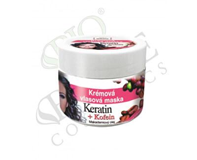 Krémová vlasová maska Keratin + Kofein 260 ml