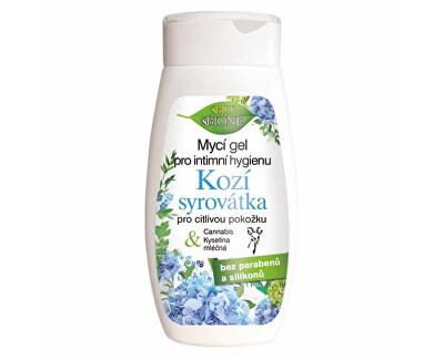 Umývací gél na intímnu hygienu Kozí syrovátka pre citlivú pokožku 260 ml