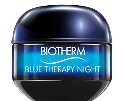 Noční protivráskový krém pro všechny typy pleti (Blue Therapy Night) 50 ml