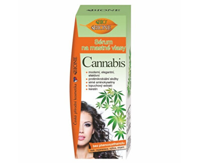 Sérum na mastné vlasy Cannabis 215 ml