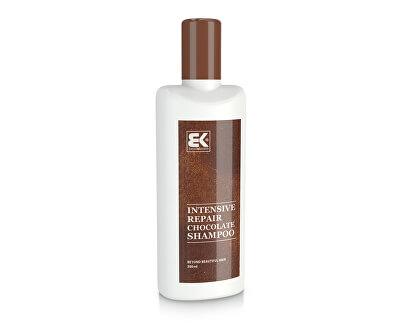Jemný šampon pro poškozené vlasy (Intensive Repair Shampoo Chocolate) 300 ml