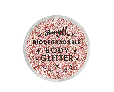 Sclipici de corp Biodegradable Body Glitter nuanța Party Time 3,5 ml