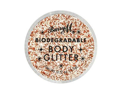 Sclipici de corp Biodegradable Body Glitter nuanța Pink Fizz 3,5 ml