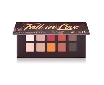 Paletka očních stínů Fall in Love (Eyeshadow Palette) 10 x 0,7 g
