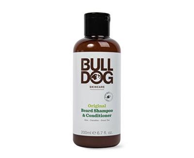 Šampon a kondicionér 2v1 na vousy pro normální pleť Original Beard Shampoo & Conditioner 200 ml