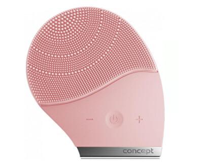 Perie sonică de curățare pentru fată Sonivibe SK9002 - pink champagne