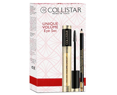 Kosmetická sada s řasenkou Volume Unico (Eye Set)