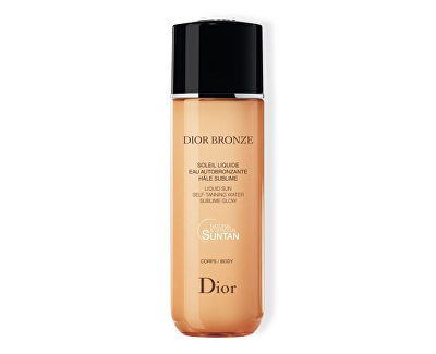 Samoopalovací mléko Dior Bronze (Liquid Sun Self-Tanning Water) 100 ml