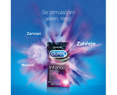 Kondomy Intense Orgasmic - SLEVA - bez celofánu