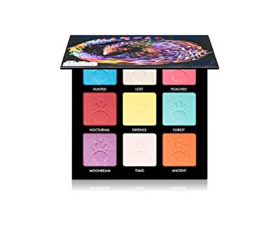 Paletă fard de ochi Wildlife (Eyeshadow Palette) 9 x 1,4 g