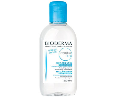 Čisticí a odličovací micelární voda Hydrabio H2O - SLEVA - uštípnuté víčko