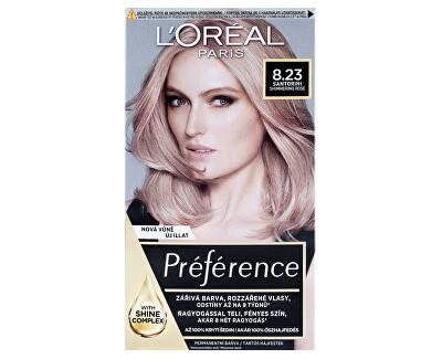 Farba na vlasy recitál Préférence