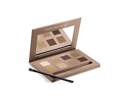 Paletka očních stínů 4 v 1 Beau Regard (Eyeshadow Palette)
