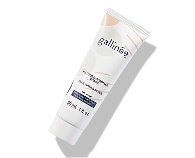 Pleťová maska a peeling Prebiotic (Face Mask & Scrub)