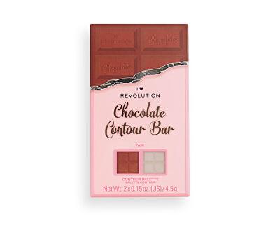 Paletka na tvář Chocolate Contour (Contour Palette) 9 g