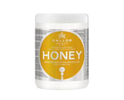 Intenzívna hydratačná maska pre suché a poškodené vlasy Honey (Mask)
