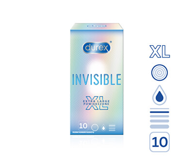 Prezervative Invisible XL