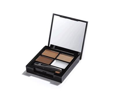 Paletka na úpravu obočia Focus & Fix Brow Kit (EyeBrow Shaping Kit)