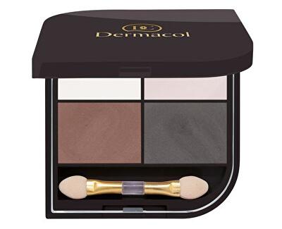 Paletka očních stínů Quatro (Eyeshadow) 8 g