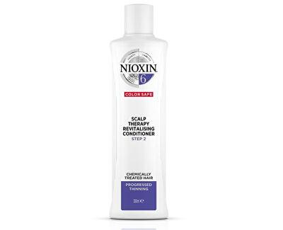 Revitalizér pokožky pro řídnoucí normální až silné přírodní i chemicky ošetřené vlasy System 6 (Conditioner System 6)