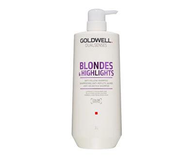Šampón pre blond a melírované vlasy Dualsenses Blonde s & Highlights (Anti-Yellow Shampoo)