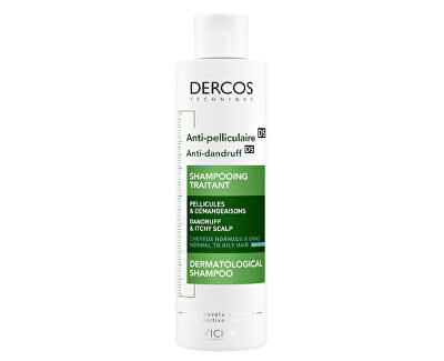 Šampón proti lupinám pre normálne až mastné vlasy Dercos