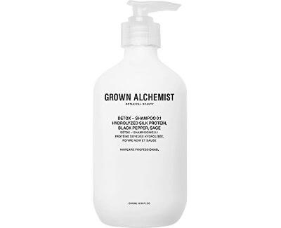 DetoxȘampon detoxifiant Hydrolyzed Silk Protein, Lycopene, Sage (Detox Shampoo)
