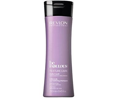Hydratačný šampón pre kučeravé vlasy Be Fabulous Texture Care (Cream Curl Defining Shampoo)