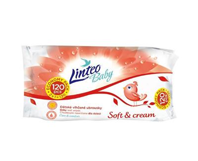 Vlhčené ubrousky Baby Soft & Cream