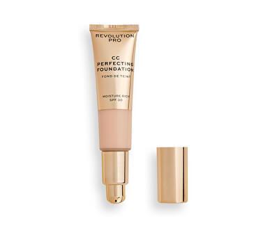 Multifunkční make-up pro suchou až kombinovanou pleť SPF 30 CC Cream Perfecting Foundation 26 ml - SLEVA - poškozená krabička