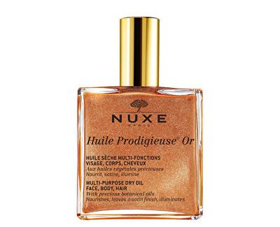 Multifunkčný suchý olej s trblietkami Huile Prodigieuse OR (Multi-Purpose Dry Oil)