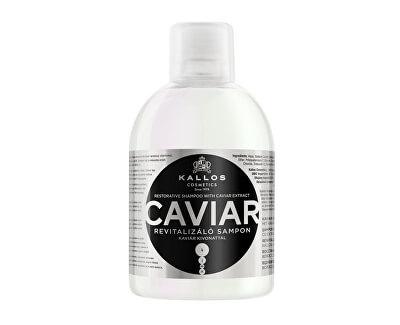 Obnovujúci šampón s kaviárom KJMN (Caviar Restorative Shampoo with Caviar Extract)