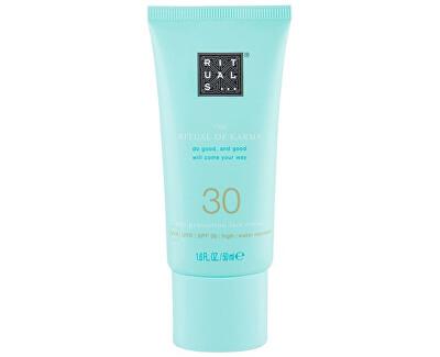 Cremă de piele SPF 30 The Ritual Of Karma (Sun Protection Face Cream SPF 30)
