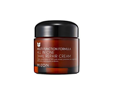 Cremă de regenerare a pielii cu secreție de melc, filtrată 92% (All In One Snail Repair Cream) - REDUCERE