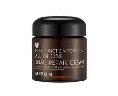 Regenerační pleťový krém s filtrátem hlemýždího sekretu 92% (All In One Snail Repair Cream)