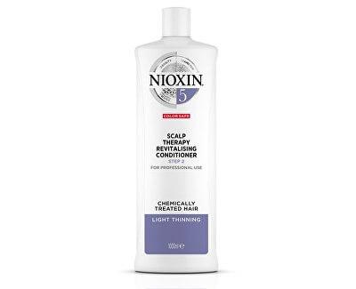 Revitalizér pokožky pro normální až silné přírodní i barvené řídnoucí vlasy System 5 (Conditioner System 5)