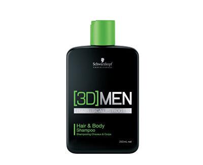 Šampón na vlasy aj telo pre mužov 3D (Hair & Body Shampoo)