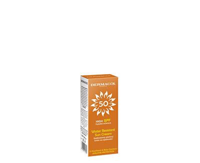 Pleťový krém na opalování Sun SPF 50 (Water Resistant Sun Cream) 50 ml