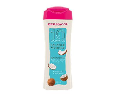 Loțiune corporală revitalizantă Balance My Body Coconut Oil (Moisture & Silkening Body Milk) 250 ml
