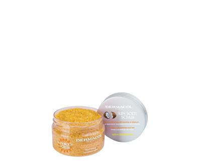 Exfoliant cu miros de piersici albe Sun (Body Scrub) 200 g