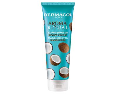 Relaxační sprchový gel Brazilský kokos Aroma Ritual (Relaxing Shower Gel) 250 ml