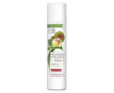 Deodorant spray Pelargonie Powered by Plants Geranium (24H Deodorant) 75 ml