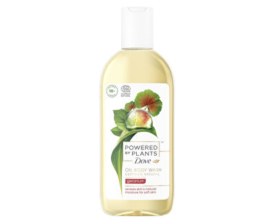 Sprchový gel Pelargonie Powered by Plants Geranium (Oil Body Wash) 250 ml